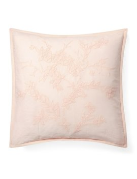 Olivia Collection Jaime Embroidered Square Pillow by Ralph Lauren