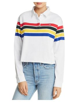 Rugby Striped Polo Top by Levi's