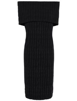 Off The Shoulder Stretch Modal Jersey Dress by Wolford
