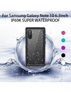 Waterproof Phone Case Cover For Samsung Galaxy Note 10 Samsung Galaxy Note 10 Plus Waterproof Protection Armor Case Cover#Y4 by Ali Express.Com