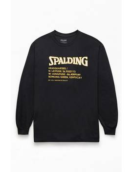 Spalding Graphic Long Sleeve T Shirt by Pacsun