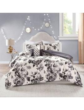 Intelligent Design Renee Floral Hypoallergenic Comforter Set by Intelligent Design