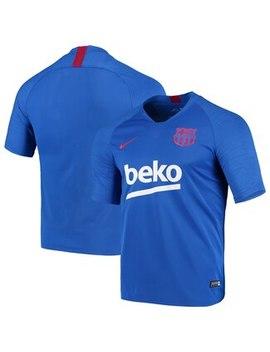 Barcelona Nike Strike Training Jersey   Blue by Fanatics