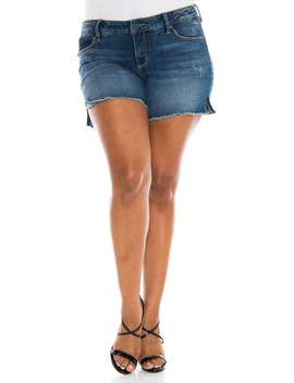 Cutoff Denim Shorts by Slink Jeans