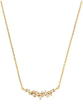 Sparkle Cluster Necklace by Accessorize
