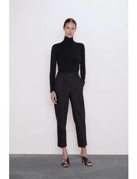 Cuffed Pants View All Pants Woman by Zara