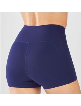 Fabletics High Waisted Solid Powerhold Shorts   Nwt by Fabletics