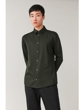 Cotton Jersey Shirt by Cos