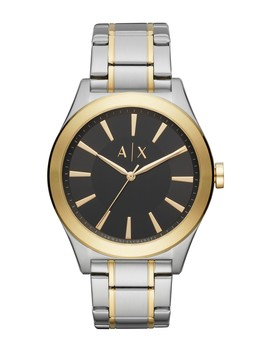 Men's Nico Two Tone Bracelet Watch, 44mm by Ax Armani Exchange