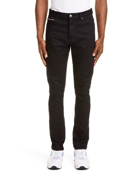 Chitch Black Skinny Fit Selvedge Jeans by Ksubi