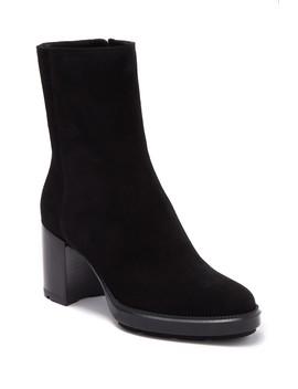 Ilyssa Weatherproof Suede Block Heel Boot by Aquatalia