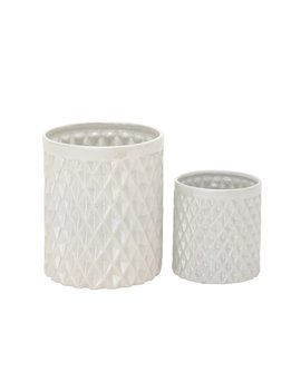2 Piece Ceramic Kitchen Utensil Crock Set by Ophelia &Amp; Co.