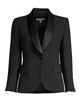 Ruffle Jacket by Michael Kors Collection