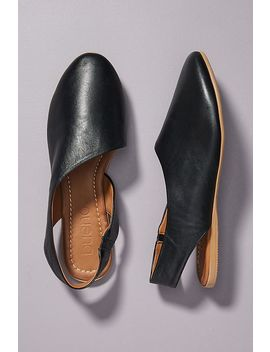 Bueno Cut Out Slingback Flats by Bueno