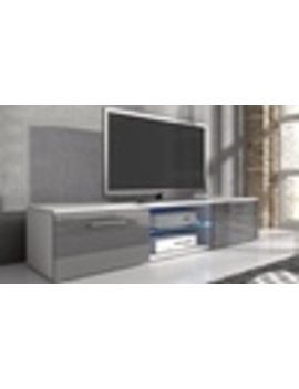 Samuel Tv Cabinet With Led Lighting by Groupon