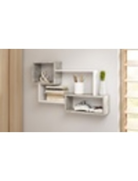 Selsey Kassi Three  Or Seven Cube Shelf Panel by Groupon