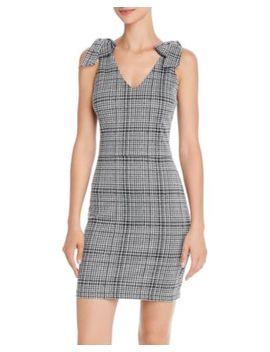 Bow Detail Plaid Dress   100% Exclusive by Aqua