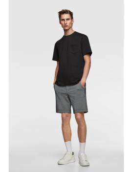 Contrasting PiquÉ Shorts View All Shorts Man by Zara