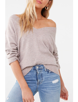 Brushed Marled Sweater by Forever 21