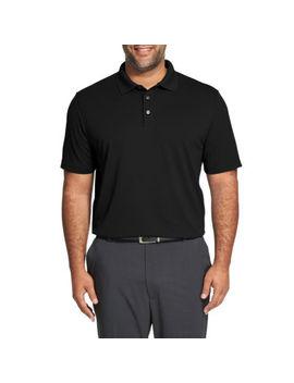 Van Heusen Mens Cooling Short Sleeve Polo Shirt Big And Tall by Van Heusen