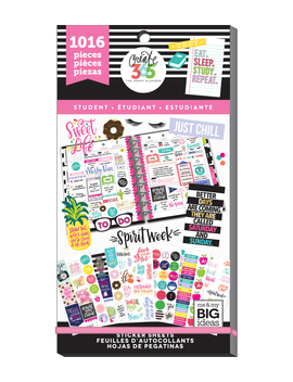 The Happy Planner Value Pack Stickers Student    The Happy Planner Value Pack Stickers Student by The Happy Planner
