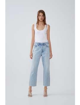 Edited Hi Rise Straight Jeans Womanedited Cornershops by Zara
