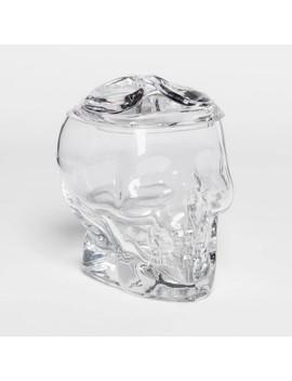 Skull Halloween Glass Jar   Hyde &Amp; Eek! Boutique   Hyde And Eek! Boutique by Hyde & Eek! Boutique