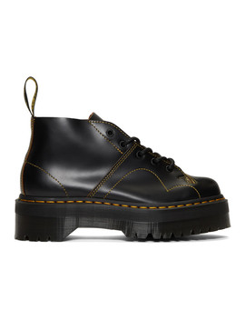 Black Church Quad Boots by Dr. Martens