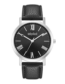 Men's Black Synthetic Leather Sport Watch, 40 Mm by General