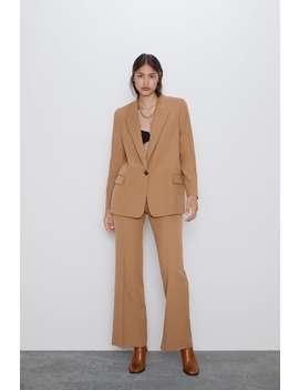 Flared Pants Smart Pants Woman by Zara