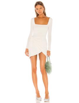 Devon Dress In White by Privacy Please