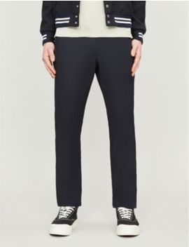 Westford Slim Fit Stretch Cotton Tapered Chinos by Reiss