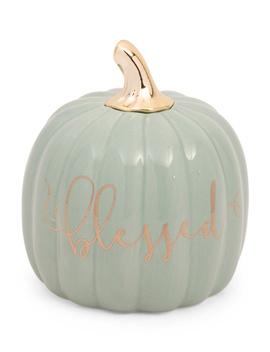 Ceramic Blessed Pumpkin by Tj Maxx