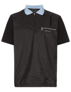 Technical Polo Shirt by Prada