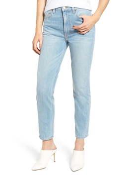 Julia Crop High Waist Cigarette Jeans by Reformation