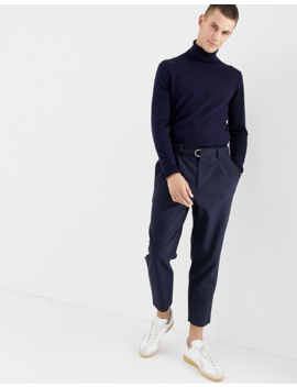 Jack &Amp; Jones Premium Knitted Roll Neck With Contrast Cuff Tipping by Jack & Jones