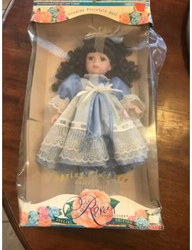1997 Melissa Jane Victorian Rose Collection Limited Edition Porcelain Doll by Ebay Seller