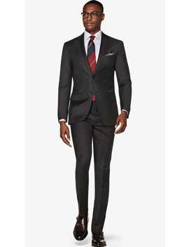 Napoli Dark Grey Suit by Suitsupply