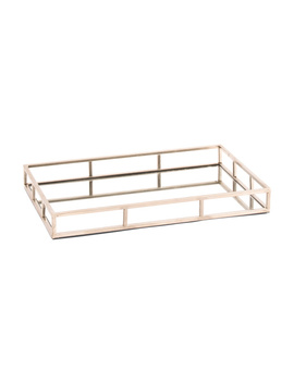 18x12 Mirrored Tray by Tj Maxx