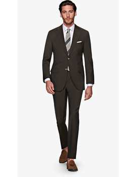 Napoli Brown Suit by Suitsupply