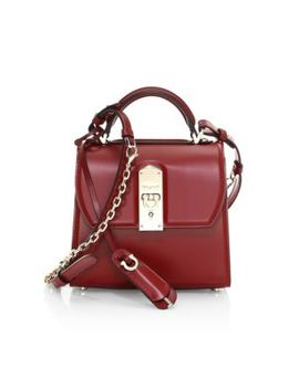 Small Boxyz Leather Top Handle Bag by Salvatore Ferragamo