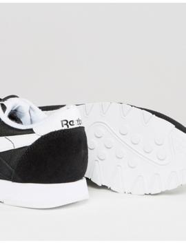 Reebok Classic Nylon Black &Amp; White Sneakers by Reebok