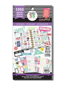 The Happy Planner Sticker Value Pack Fri Yay Student    The Happy Planner Sticker Value Pack Fri Yay Student by The Happy Planner