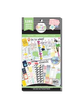 The Happy Planner 1281 Pk Stickers Travel    The Happy Planner 1281 Pk Stickers Travel by The Happy Planner