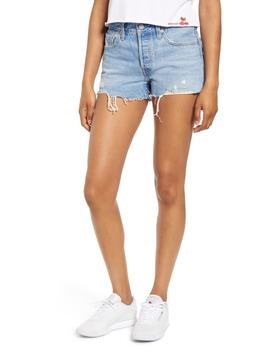 501® High Waist Cutoff Denim Shorts by Levi's®