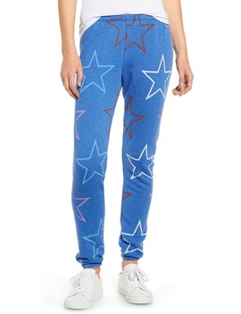Knox Starlight Cotton Blend Sweatpants by Wildfox
