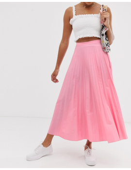 Glamorous Midaxi Full Pleated Skirt by Glamorous