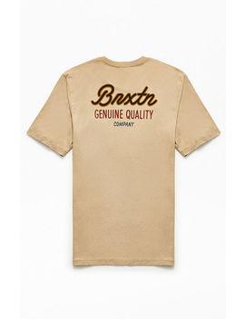 Brixton Sprint Pocket T Shirt by Pacsun