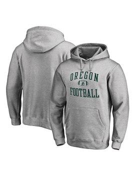 Oregon Ducks Fanatics Branded First Sprint Pullover Hoodie   Heather Gray by Fanatics Branded
