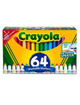 Crayola Broadline Markers 64ct Washable by Crayola
